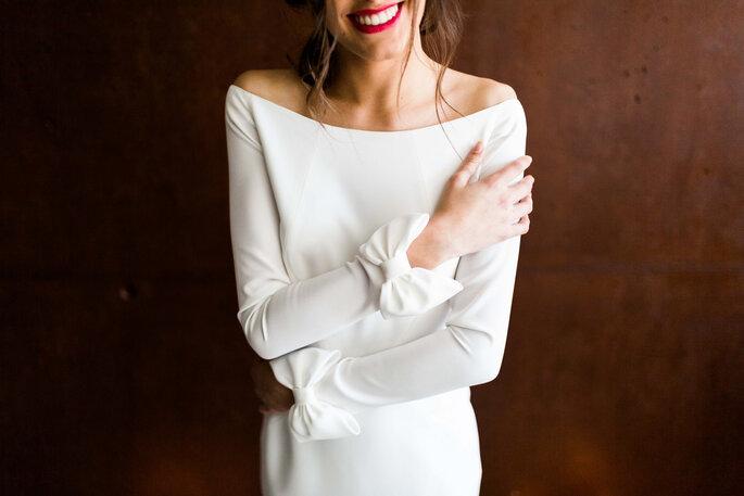 Vestido de noiva - noiva sorrindo