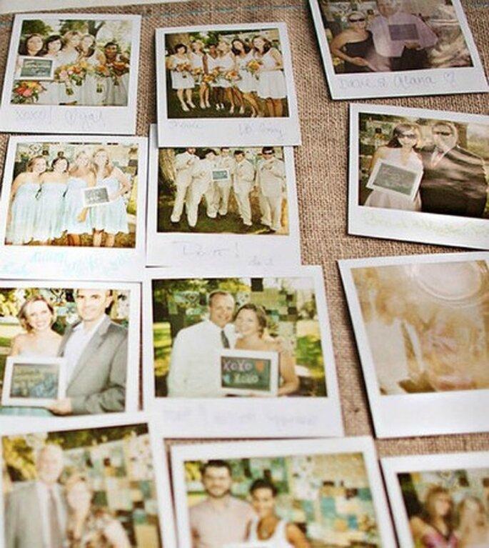 Livre d'or pour votre mariage : misez sur le polaroid !