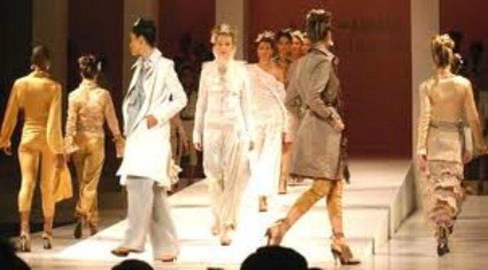 Desfile diseños Silvia Tsherassi