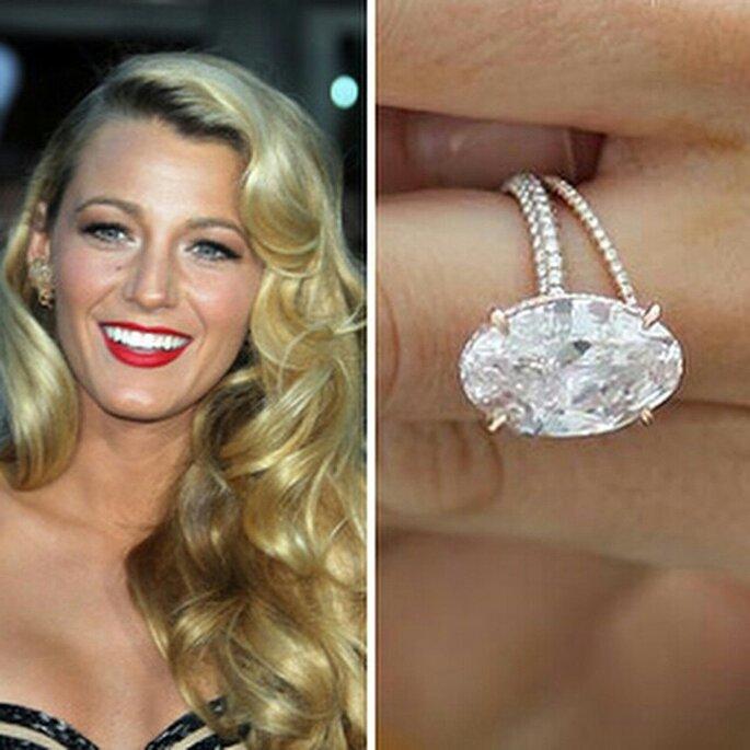 6 hermosos anillos de compromiso de 6 famosas ¿Cuál es tu favorito?