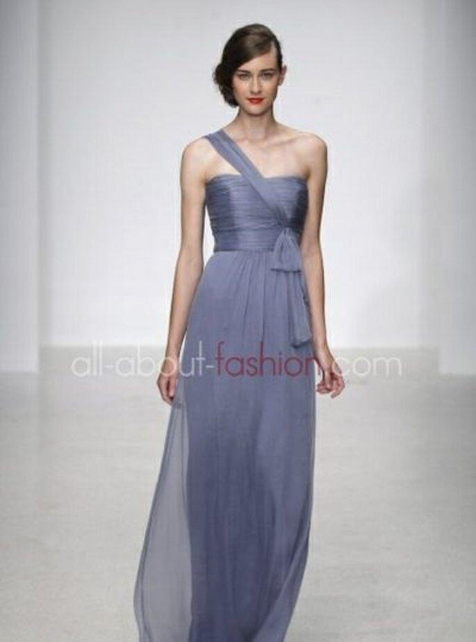 Violetter Traum für die standesamtliche Hochzeit - Amsale 2013