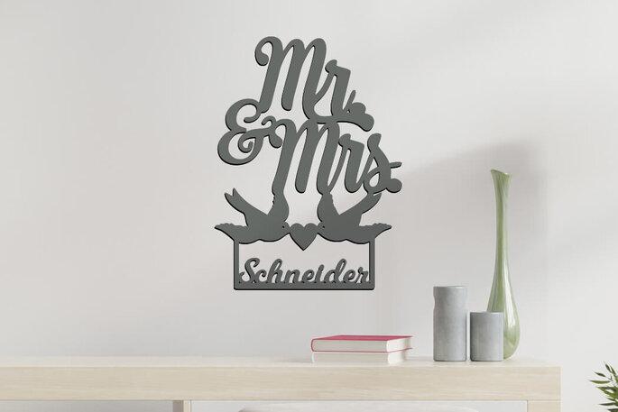 Hochzeitsgeschenk von Unique Art Germany