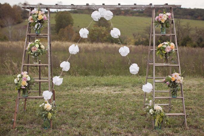 Los altares de boda más lindos para la ceremonia religiosa - Modern Romance