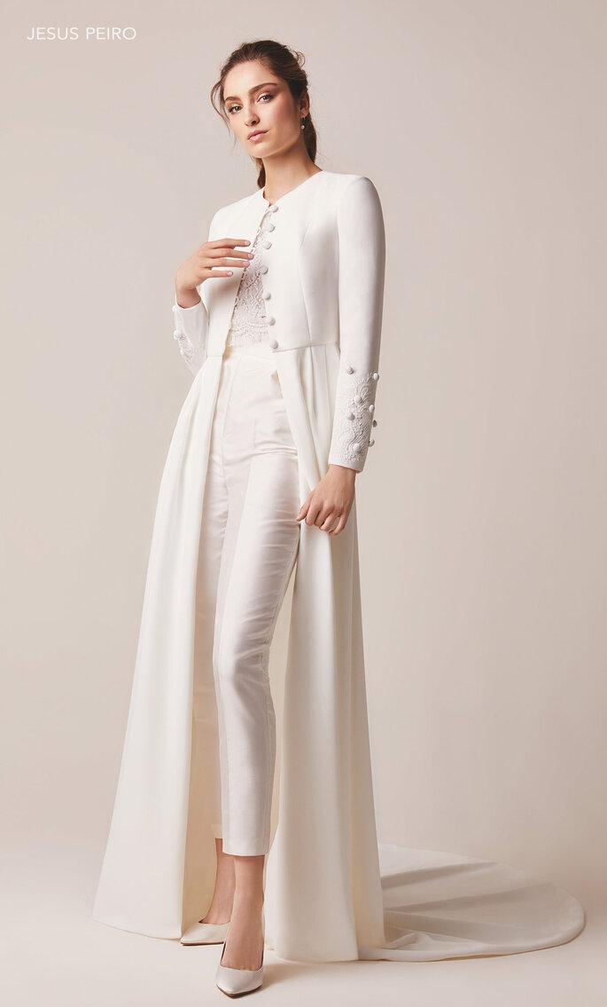 Vestidos de novia de dos piezas