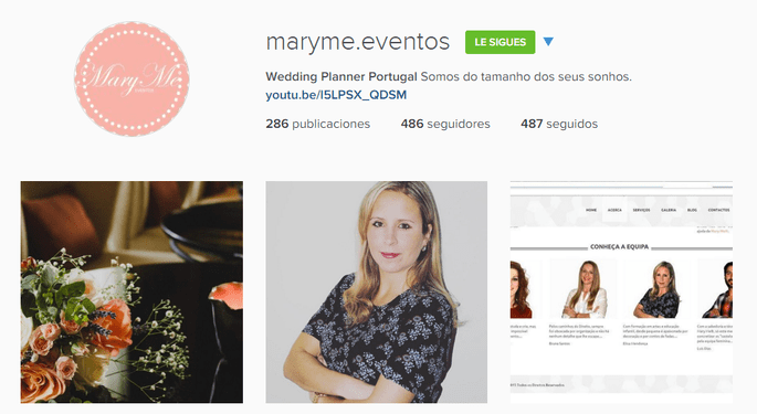 Instagram maryme Eventos