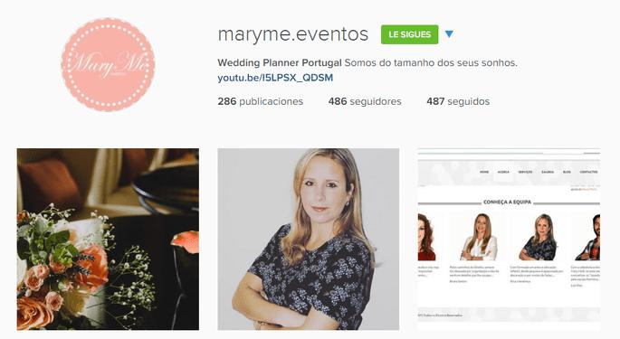 Instagram maryme Eventos