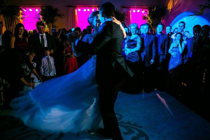dança noivos casamento clássico