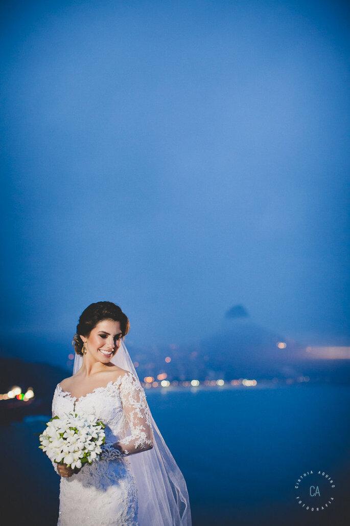 Noiva e paisagem Rio