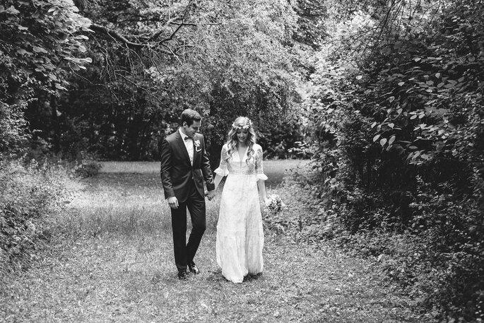 Markus Schneider Fotografie Laufendes Brautpaar
