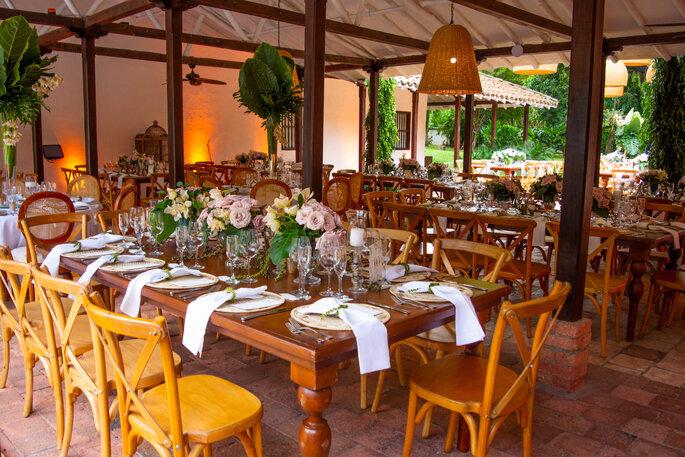 Hacienda Del Bosque Comedor para boda