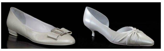 Due modelli perfetti di scarpe basse per la sposa che non vuole rinunciare alla comodità nel giorno del sì