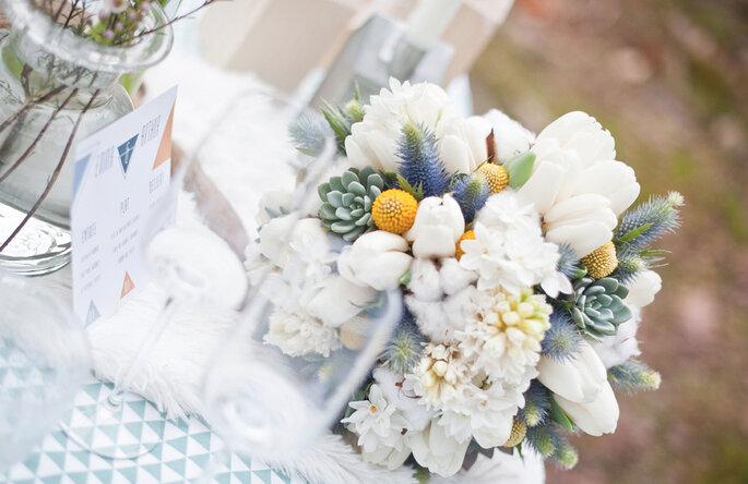 Création florale : Aude Rose / Photo : Annaimages