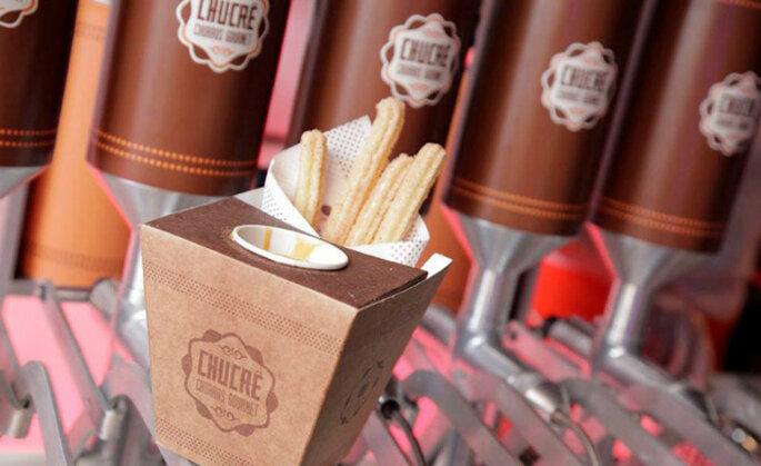 Carrinho de churros: Chucrê - Churros Gourmet. Foto: Divulgação.