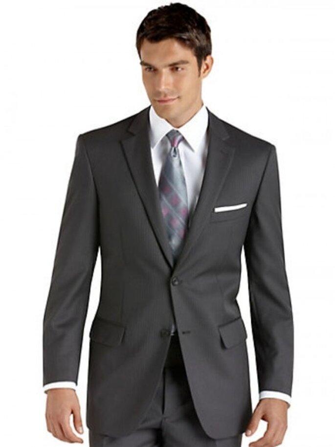Traje Pronto Uomo color gris,$349.99USD