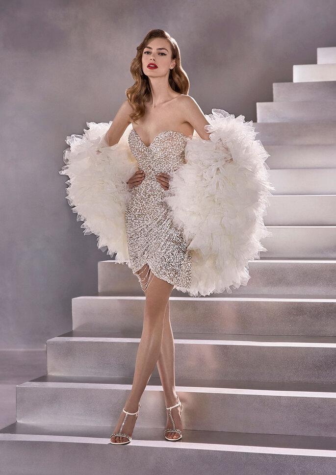 vestido de noiva corte curto