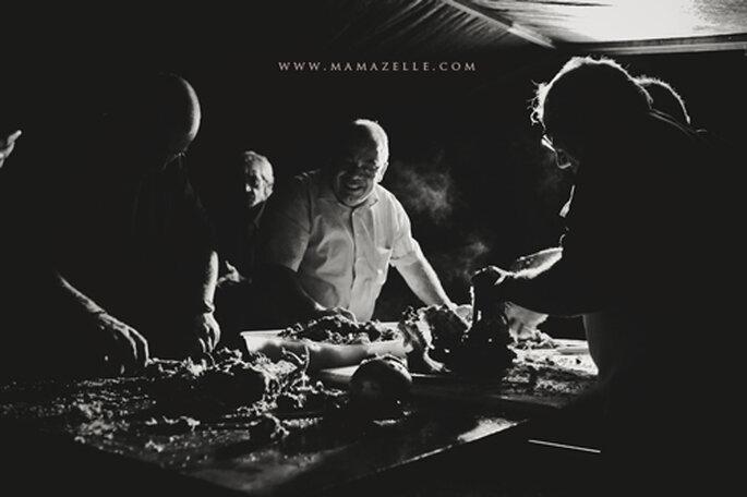 Männerarbeit. - Foto: www.mamazelle.com