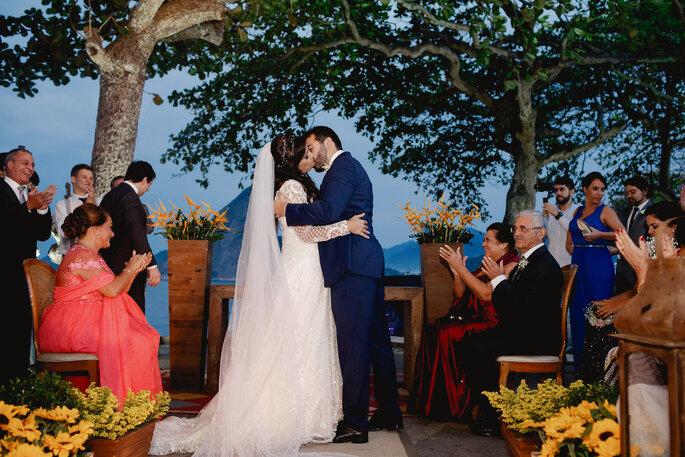beijo casamento