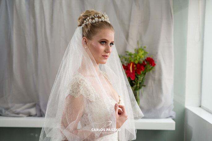 Noiva pronta para dizer Sim!