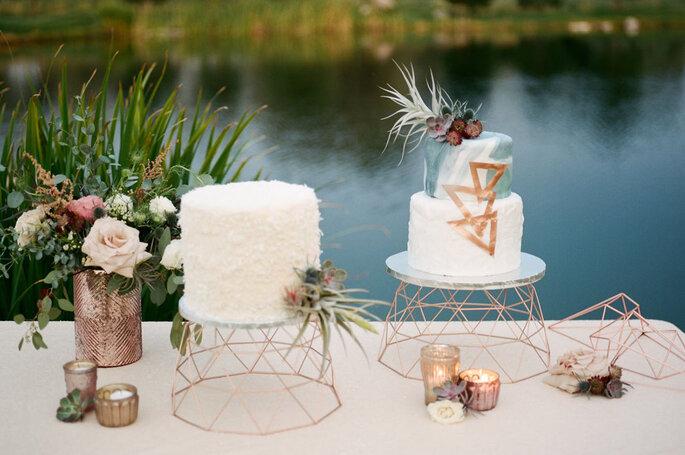 Detalles geométricos para tu boda