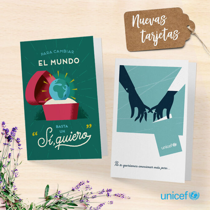 tarjetas Unicef