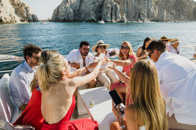 Fiesta en Crucero - Boda en Cabos