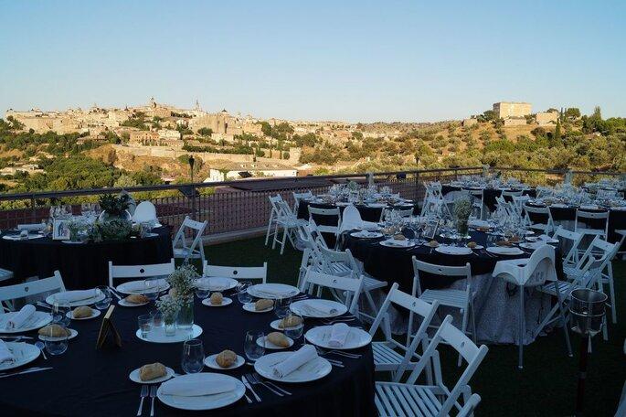 Cigarral El Bosque finca bodas Toledo