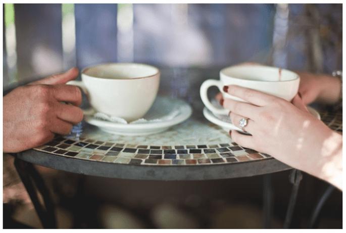 Sessão de fotos pre casamento inspirada no café - Foto Driver Photo