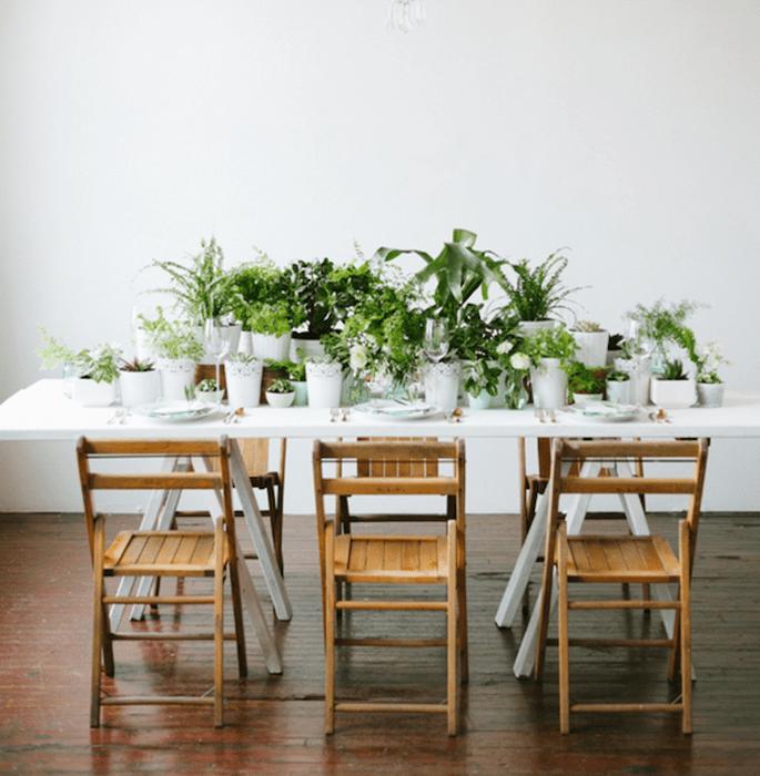 El color verde en tu boda, la mejor forma de atraer vida - Foto Jeff Loves Jessica