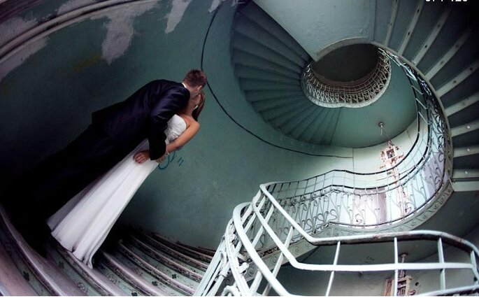 Fotos originales para boda. Foto de