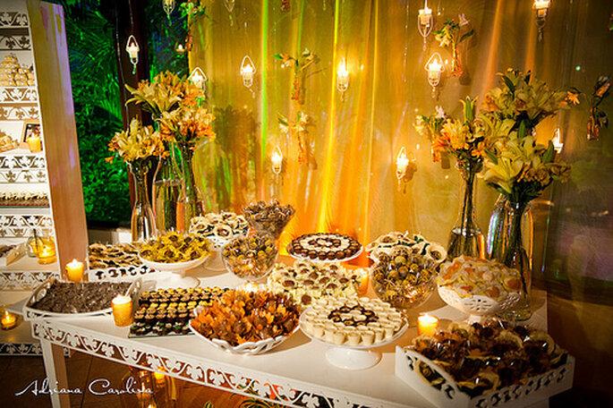 Ideas de mesas de postres para bodas imagui for Mesa de postres para boda