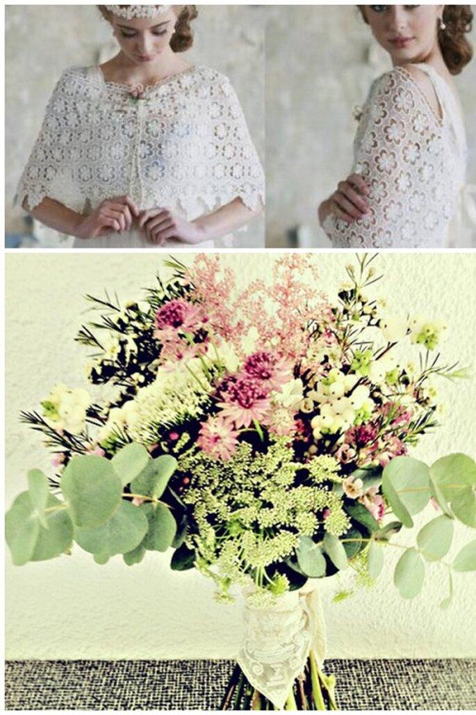 Un ramo de flores para cada tipo de novia - Fotos: Ruché y Verderón