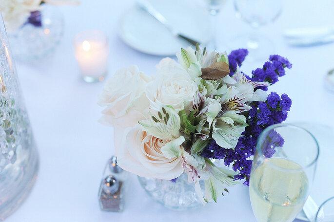 Decoración para una boda en la playa. Foto: Clau Photography Fine Art