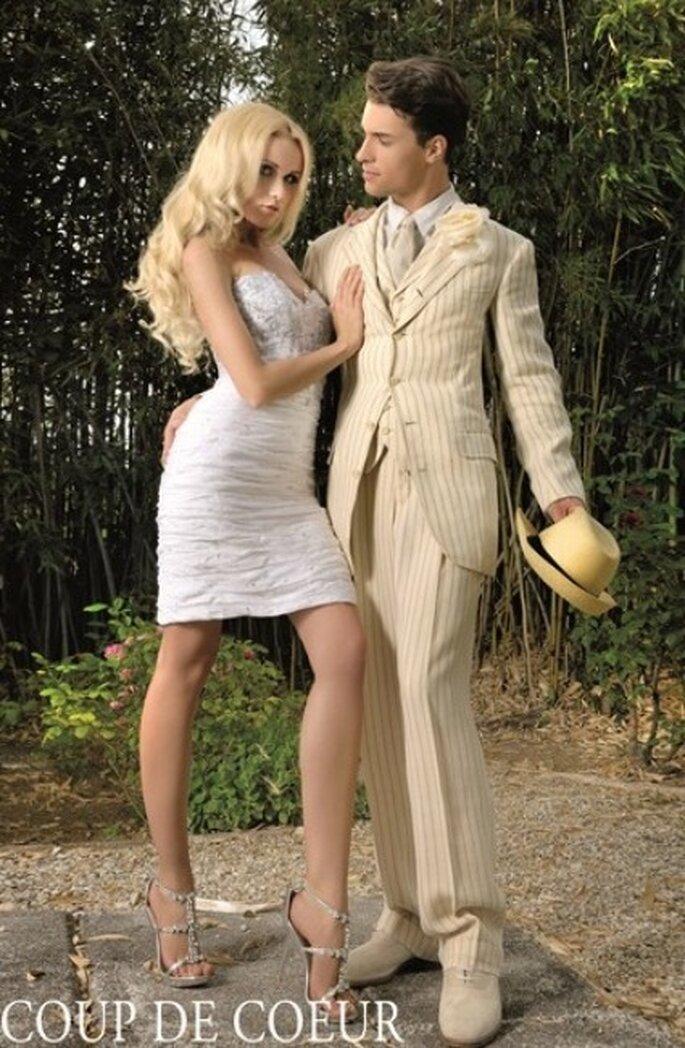 Robe modulable courte Coup de Coeur collection 2012 Les Amoureux - Max Chaoul