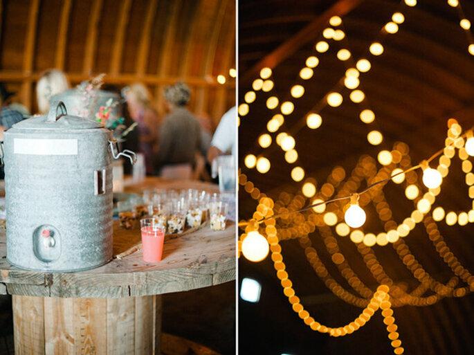Les meilleures idées pour les stands boissons de votre mariage - Photo: Jeff Sampson