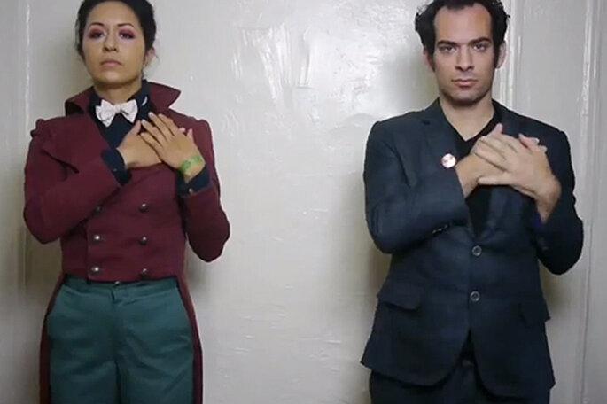 Jonathan y Ivoty han anunciado su ruptura a sus amigos con un vídeo de YouTube. Foto: YouTube