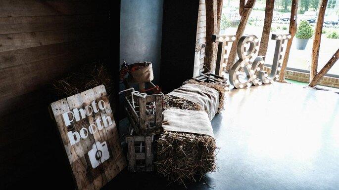 décoration thème champêtre mariage dans le Pas-de-Calais