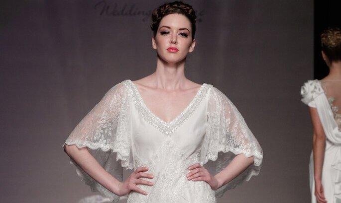 Un modello di Anoushka alla White Gallery. Foto: ©Anoushka