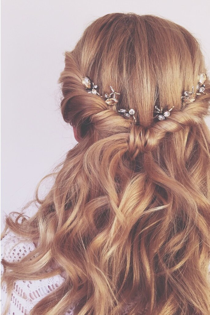Credits: The Wedding Hair Company