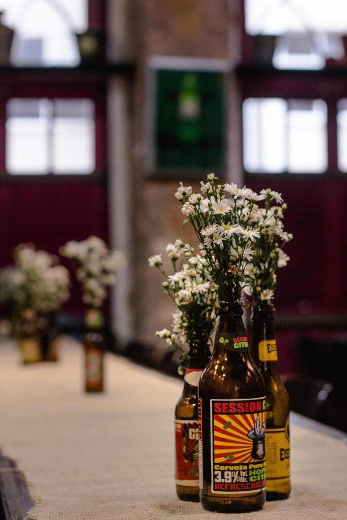 decoração casamento alternativo