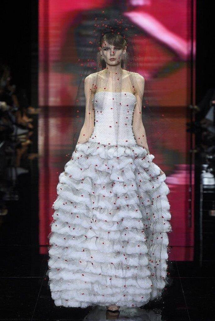 Los más hermosos vestidos de novia de las colecciones alta costura - Foto Armani Prive