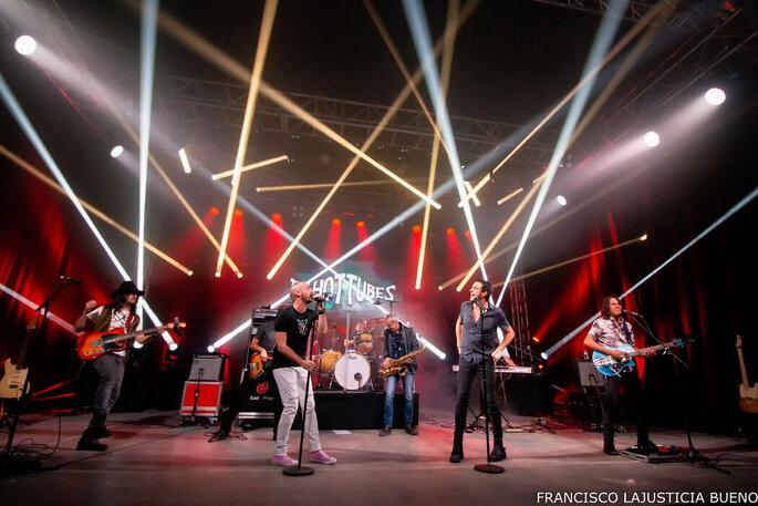The Hot Tubes música en vivo Madrid