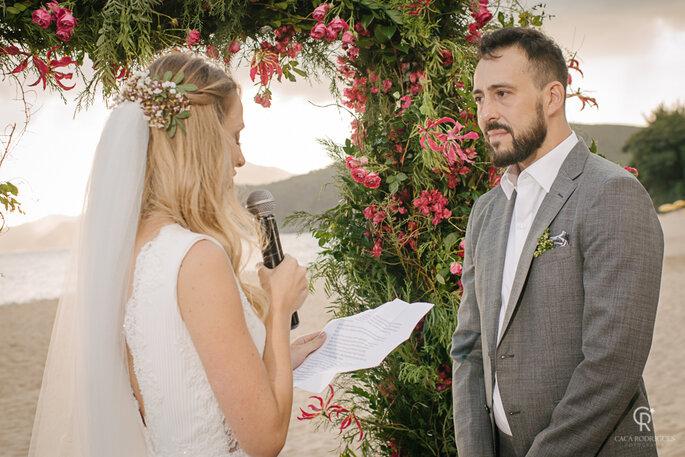 Declaração da noiva