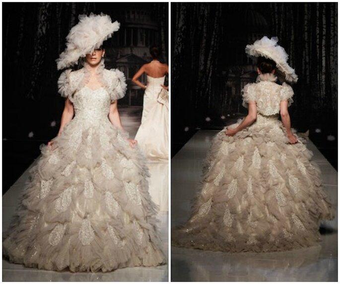 Ian stuart 2013 abiti perfetti per una sposa eccentrica con stile - Diva sposa salerno ...