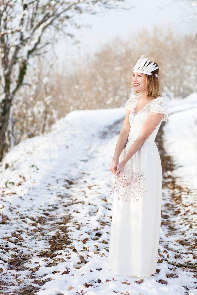 Caroline Takvorian Créatrice de robe de mariée