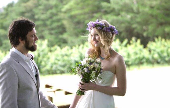 Il est donc de mon devoir de vous la pr senter - Coiffure mariage boheme chic ...