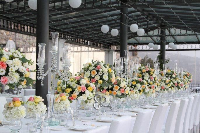 L'Asso dei Fiori - fiori e candelabri centrotavola