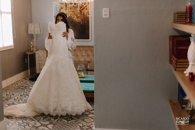 Noiva e vestido