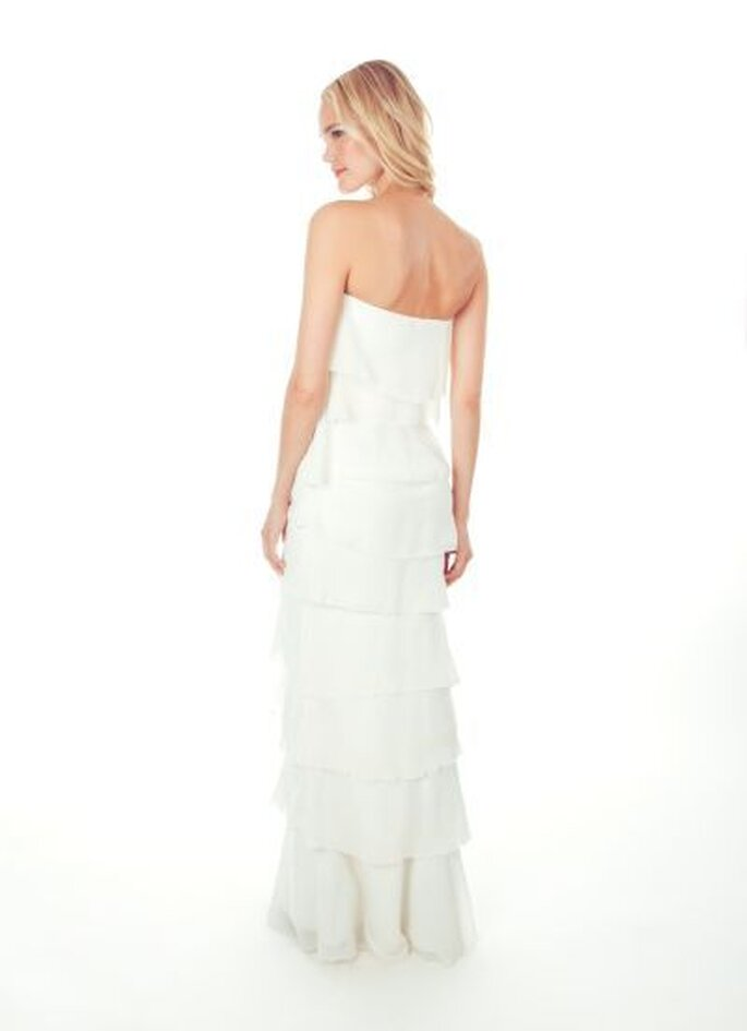 Nicole Miller Spring 2013 Wedding Dress