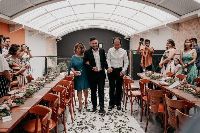Local para casar contemporâneo