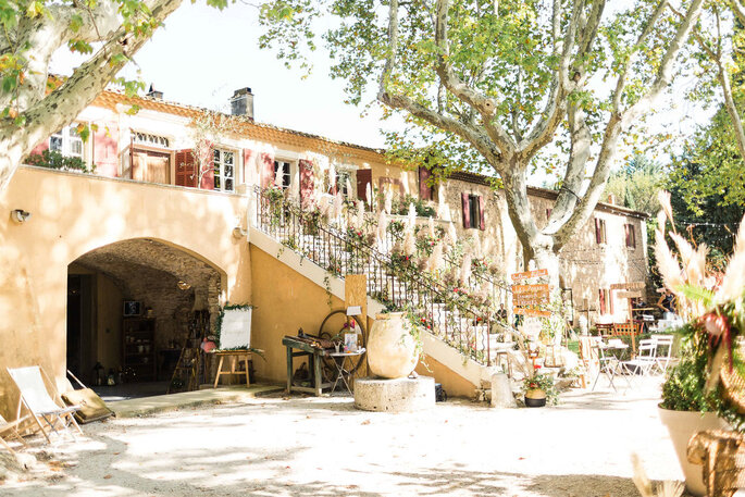 Le Moulin de la Recense - Lieu de réception - Ventabren